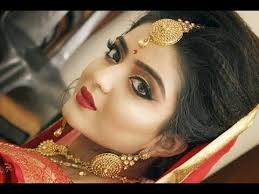 indian wedding makeup and hair tutorial