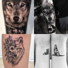 Tatuaz Wilk 19 Wzorow