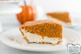 no bake pumpkin pie er with a