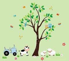 Farm Nursery Decals Kids Room Farm Theme Country Theme Etsy