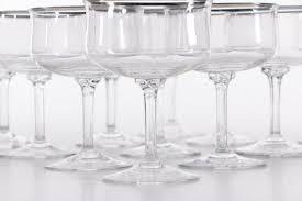 vintage lenox crystal champagne glasses