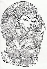 Advanced Fantasy Coloring Pages