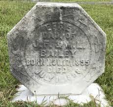 Effie Bailey (1895-1898) - Find A Grave Memorial