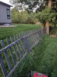 What S The Best Way To Fix This Fence From Leaning Over Fixit