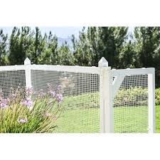 Snapfence Pet Frame With Heavy Duty Wire Mesh And Gate Vinyl Fence Panel Wayfair