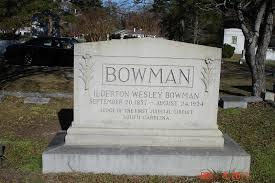 Ilderton Wesley Bowman (1857-1924) - Find A Grave Memorial