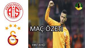 Antalyaspor 1 - 2 Galatasaray Maç Özeti HD