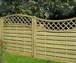 Fence Panel 455 Planed Timber 9mm Reeded Boards 3x2 Frame