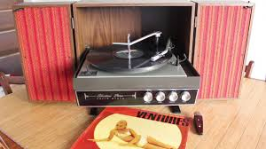 silvertone stereo solid state record