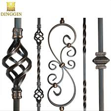 China Wrought Iron Stair Railing Parts Twist Iron Baskets Wrought Iron Baskets China Wrought Iron Metal Leaves Wrought Iron Decratition