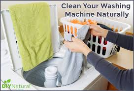 how to clean washing machine naturally