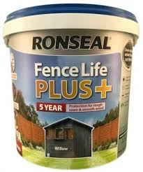 Ronseal Fence Life Plus Willow 5l Clarkes Bailieborough