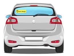 Deaf Driver Bumper Sticker Projecthearing