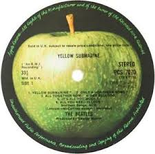 The Beatles Yellow Submarine Apple Label Decal Vinyl Sticker 100mm B2g 1 Free Ebay