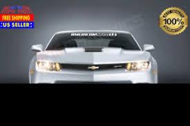 American Muscle Car Murica Windshield Banner Vinyl Decal Sticker Usdm Ebay