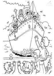 1001 Kleurplaten Sinterklaas Stoomboot Kleurplaat Aankomst