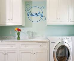 Laundry Inside Bubbles Wall Art Wall Vinyl Wall Sticker Wall Decal Laundry Room Wall Decals Bubble Wall