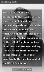 the call of god is a call according to the nature of god where we