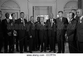 Derechos Civiles los dirigentes se reúnen con el Presidente John F ...