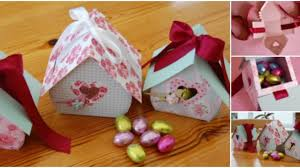 diy bird nest gift box