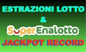 Estrazioni del Lotto e Superenalotto di oggi, risultati vincite e ...