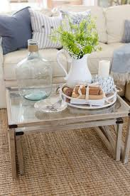 living room for spring with birch lane