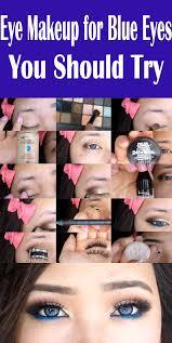blue eyes makeup ideas