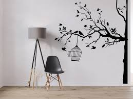 Tree Wall Decal Sticker Bedroom Tree Of Life Roots Birds Etsy In 2020 Tree Wall Decal Wall Decal Sticker Vinyl Wall Art