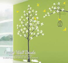 Tree Wall Decals White Tree Wall Decal Cuma Wall Decals