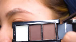 how to apply eyebrow powder 13 steps