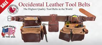 occidental leather toolbelt systems