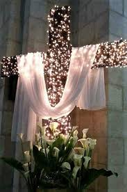 Pin by Myra Myers on Easter and Spring --- Two | Church easter decorations,  Church christmas decorations, Church altar decorations