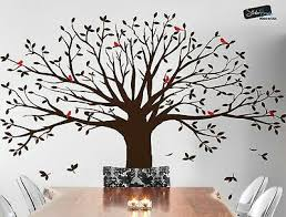 Large Family Tree W Birds Wall Decal Sticker By Stickerbrand Living Room 6087 89 95 Picclick