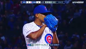 """Adbert Alzolay on Twitter: """"1 year ago today , I made my first pitch at  Wrigley .. 06-20… """""""