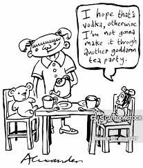 Teaparty Cartoons and Comics - funny pictures from CartoonStock