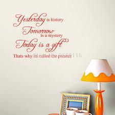 motivational inspirational quotes kemarin adalah sejarah wall