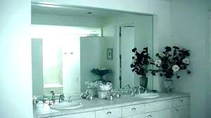 frameless wall mirrors large large