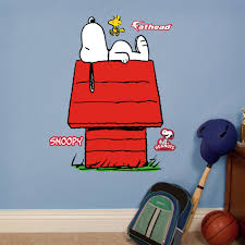 Shop Fathead Jr Peanuts Snoopy Wall Decals Overstock 9595441