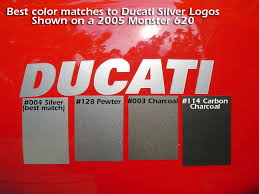 ducati color reference tapeworks graphics