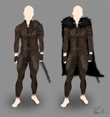 started designing my first armor