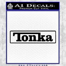 Tonka Logo Decal Sticker A1 Decals