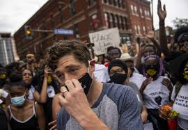 Minneapolis mayor jeered and booed by George Floyd protesters after saying  he would not defund or abolish the police