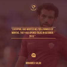 lfc transfer room on 💬 quote mohamed salah has