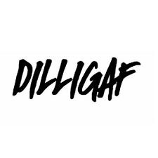 Dilligaf Tab Car Vinyl Window Decal Sticker Olive Black Decor Decals Stickers Vinyl Art