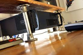 rack mount computer studio desk