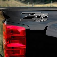Raiders Z71 Truck Decals 4x4 Chevy Silverado Oakland Nfl Sticker