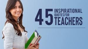 famous quotes on teachers edsys
