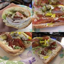 subway carved turkey bacon review