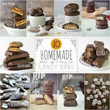 10 homemade candy bar recipes