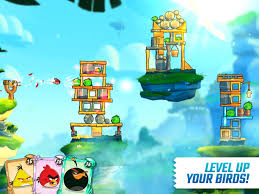 Angry Birds 2 APK Download, defeat piggy boss and rescue your world